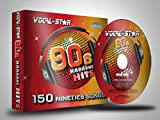 Vocal-Star 90s Karaoke CD CDG Disc Pack 8 Discs CDs 150 Songs