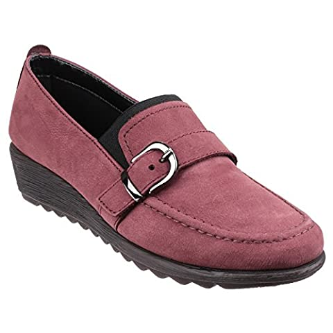 The Flexx Damen Runagade Cashmere Loafer mit Keilabsatz (39 EU)