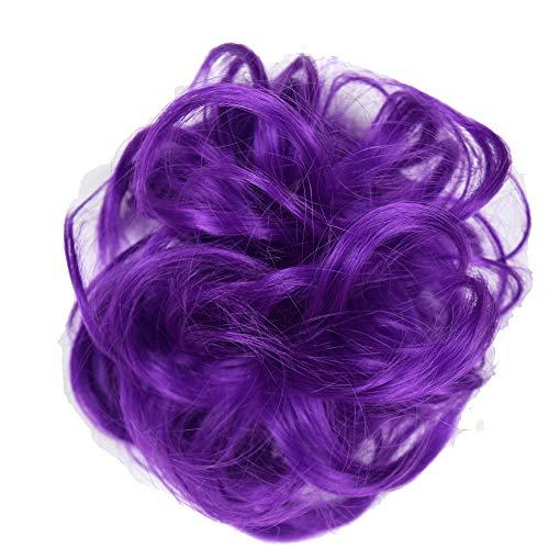 Wig Chemiefaser Farbe Perücke Tasche Gummi Seil Perücke Ring Perücke Film Täglichen Gebrauch @ 2