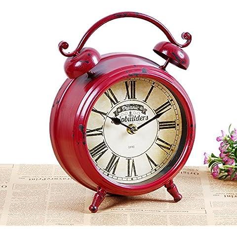 kinine Europa y la cosecha de silencio creativo dormitorio hogar reloj solo utilidad viento adornos