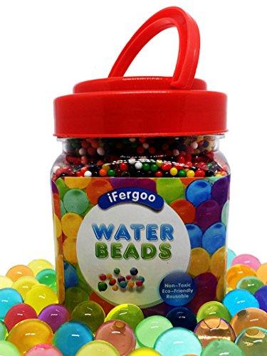 Perlas del agua, perlas del grano del gel del agua de cristal...