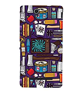 Fuson Designer Back Case Cover for Sony Xperia C3 Dual :: Sony Xperia C3 Dual D2502 (Variety of house holds)