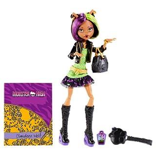 Mattel Monster High BGT38 -  New Scare-mester Clawdeen, Puppe mit Zubehör