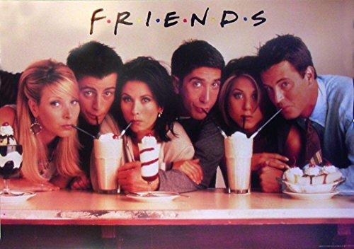 """Póster """"Friends"""" (100,5cm x 69cm) + 1 póster sorpresa de regalo"""