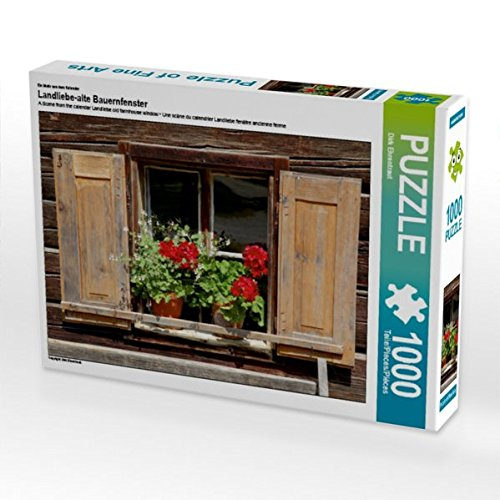 Ein Motiv aus dem Kalender Landliebe-alte Bauernfenster 1000 Teile Puzzle quer (CALVENDO O Preisvergleich