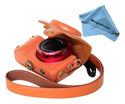 megagear-sx170-ever-ready-protective-case-for-canon-sx170-camera-light-brown