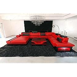 Conjunto de muebles para salón MEZZO XXL LED