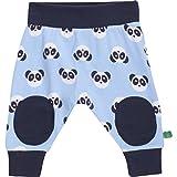 Fred's World by Green Cotton Baby-Jungen Hose Panda Funky Pants, Blau (Blue 015392001), 80