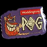 POGS 1994 Waddingtons POGMAN PIN BADGE Sealed SUPER ULTRA RARE POG SHOP