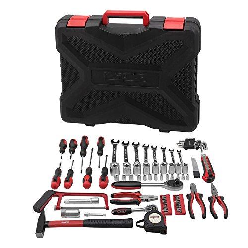 Preisvergleich Produktbild Werkzeugkoffer Werkzeug Koffer bestückt 89 Teile - Aluminium 46 x 37,5 x 9 cm