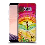 Head Case Designs Offizielle Drew Brophy She Walks On Water Surf-Kunst Ruckseite Hülle für Samsung Galaxy S8+ / S8 Plus