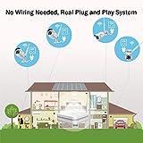 ANNKE WiFi Überwachungskamera-Set 8CH 1080P Wireless NVR System mit 4PCS 1080P WLAN Außen Kamera und 1TB Festplatte eingebaut für Innen und Außen, Onlinezugriff, Bewegungserkennung mit E-Mail-Alarm - 3
