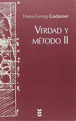 Verdad y método II (Hermeneia) por Hans-Georg Gadamer