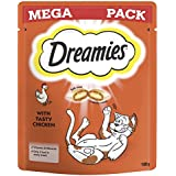 Dreamies Cat Treats with Chicken, 180 g - Pack of 6