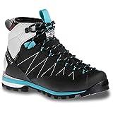 Dolomite Crodarossa Pro GTX WMN Chaussures de randonnée pour Femme, Black/Capri Blue, 5.5 UK