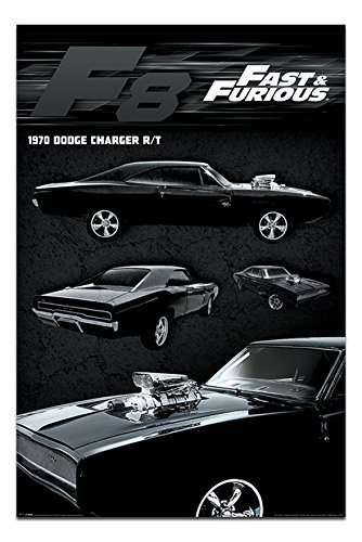 fast-furious-8-dodge-charger-poster-maxi-915-x-61cms-36-x-24-inches