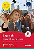 Hueber Sprachkurs Plus Englisch: Für Anfänger und Wiedereinsteiger / Buch mit MP3-CD, Online-Übungen, App und Videos