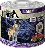 Tundra Hundefutter Lamm Nassfutter - getreidefrei (6 x 400g)