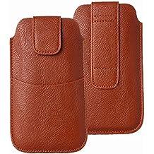 LORDWEY® Funda 5.5 Inch Universal teléfono móvil cinturón Caso de la Bolsa 71e7a11185e1a