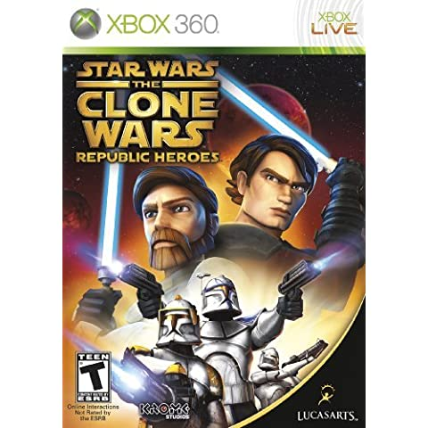 Star Wars the Clone Wars: Republic Heroes - Xbox 360 by LucasArts