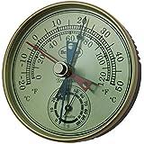 Brannan 12/413 - Termómetro e higrómetro (manillas para máximos y mínimos)