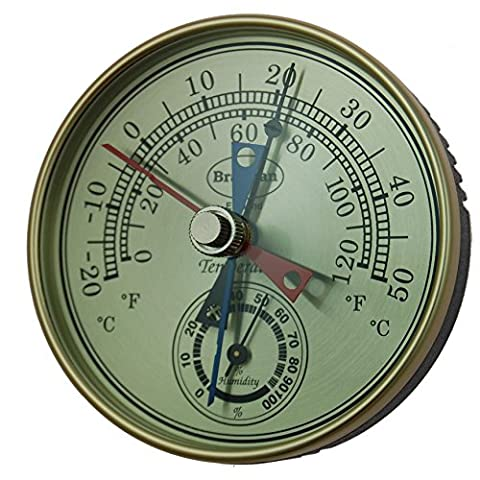 Brannan 12/413 Dial Max Min Thermometer Hygrometer Humidity Meter