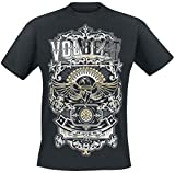 Volbeat Old Letters T-Shirt schwarz