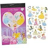150tlg. XL - Set Sticker / Aufkleber - Disney Princess - Kinder Kind klein Prinzessin z.B. für Stickeralbum Stickerblock - Arielle Rapunzel Schneewittchen