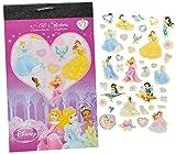 Unbekannt 150tlg. XL - Set Sticker / Aufkleber - Disney Princess - Kinder Kind klein Prinzessin z.B. für Stickeralbum Stickerblock - Arielle Rapunzel Schneewittchen