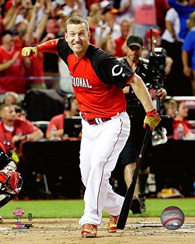 MLB Todd Frazier Cincinnati Reds 2015 Home Run Derby Action Foto (Größe: 20,3 x 25,4 cm)