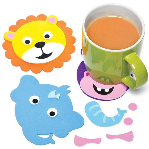 jungle-animal-foam-coaster-craft-kits-for-children-to-make-personalise-and-display-as-summer-craft-p