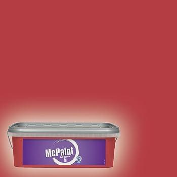 Alpina spezial wandfarbe f r wohn und schlafr ume rot 876877 baumarkt - Wandfarbe deckkraft klasse 1 ...