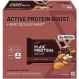 RiteBite Max Protein Active Choco Fudge Bars 450g - Pack of 6 (75g x 6)