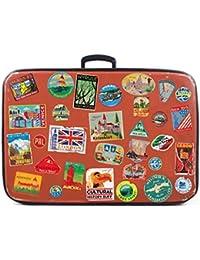 31x Bagage Autocollants valises étiquettes de Voyage Vintage rétro Vintage Style Vinyle Autocollants