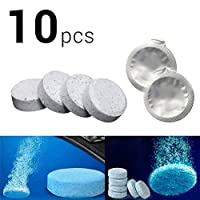 HonXins 10pcs Car Windscreen Window Cleaner Wash Tab Glass Effervescent Tablets Auto Care