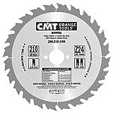 CMT 290.210.24M Lama Circolare per Taglio Lungo Vena per Macchine Portatili, Metallo/Grigio