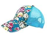 ZKADMZ@@ Kappen-Frauen Weinlese-Druck-Justierbare Hut-Sommer-Zufällige Hüte Hip Hop-Heiße Verkaufs-Flache Kappen