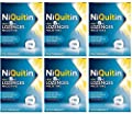 NiQuitin Mint Lozenges, 4mg, 72 Lozenges Per Pack (6X Boxes of 72 Lozenges) Bulk Bargain Buy **Expiry 30th June 2019** by Elan Pharma International Ltd