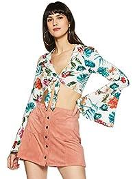 Forever 21 Women's Floral Regular Fit Shirt