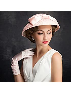 RAN Estilo europeo Ladies Hat Vestido nupcial tocado accesorios Summer Sun Hat