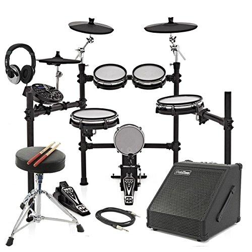 WHD 517-DX Pro Elektronisches Schlagzeug & 30W Verstärker - im Paket