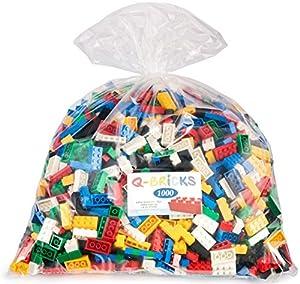 Q-Bricks básico Mezclados Building Blocks Bolsa de plástico (1000 Piezas)