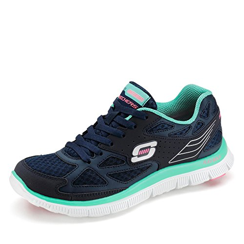 Skechers, Sneaker donna Blu scuro