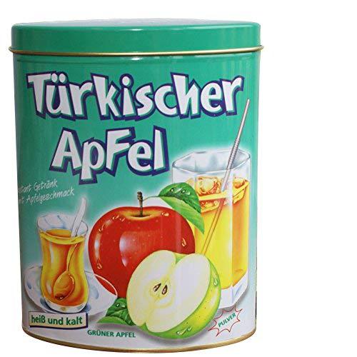 Türkischer Apfel Instantgetränk mit Apfelgeschmack grün 300g in Dose - Instantpulver Ottoman