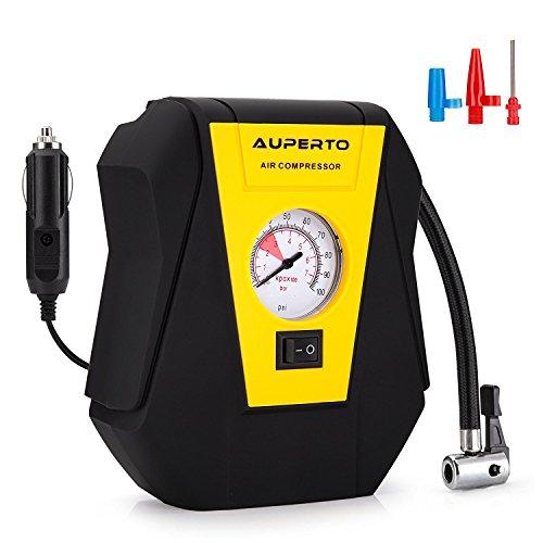 Analogico Compressore Aria , AUPERTO 100 PSI/7 Bar DC 12V Portatile Auto...