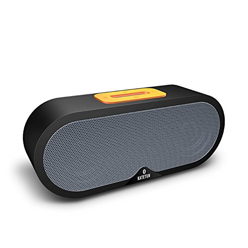 Beach-lautsprecher (Micrael Home Wireless Ultra Portable Bluetooth 4.0 Lautsprecher Unterstützung Micro TF SD Karte Superior Clarity Sound Subwoofer - Schwarz)