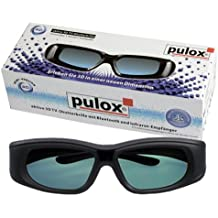 Pulox - Gafas 3D para pantalla LCD/LED (Samsung, Philips, Sharp, Toshiba, Sony, Panasonic, LG, Mitsubishi)