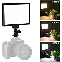 VILTROX L116T RA CRI95 Super Slim LED Light Panel,3300K-5600K Color temperature LED Video Light for DSLR Camera