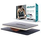 Das Plankpad balance board ist das perfekte Trainingsgerät, um deinen gesamten Körper zu trainieren. Durch die Plank-Halteübung kommst du in Form, du verbrennst Fett und baust Muskeln auf. Durch das plankpad in Kombination mit der auf dein Training a...