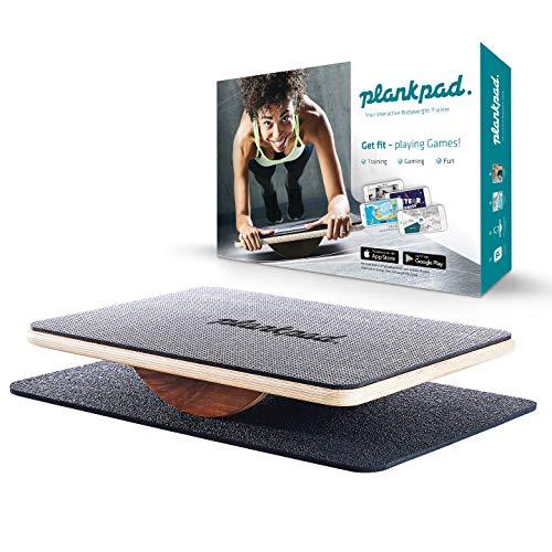 plankpad v.2018 - Ganzkörper Fitnesstrainer & Balance Board mit App für iOS & Android - Innovativer Plank Bauchmuskel Trainer aus Die Höhle der Löwen